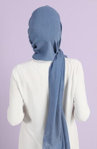 Jeansblau Schal 19056-10