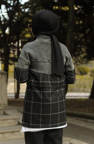 Veste Noir 4291CKT-01