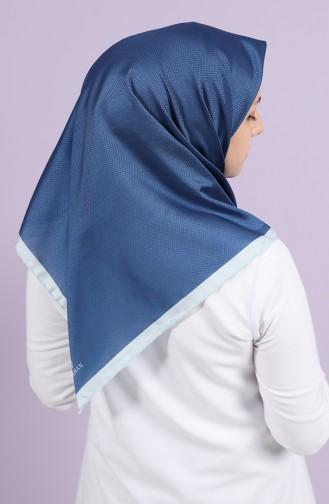 Light Navy Blue Hoofddoek 10100-13