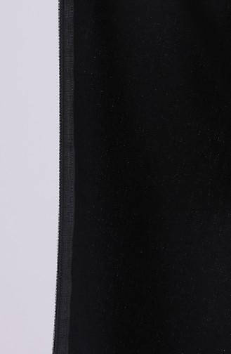 Black Lange Jas 4054-04