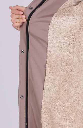 معطف طويل بيج 4054-05