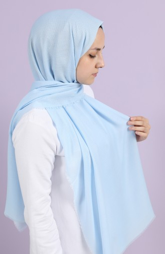 Châle Bleu Glacé 10000-04