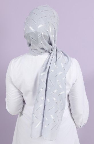 Silver Gray Sjaal 10002-14