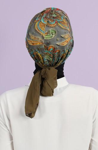 Dark Khaki Bonnet 0038-D-1-17