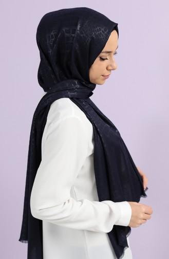 Navy Blue Sjaal 13198-03