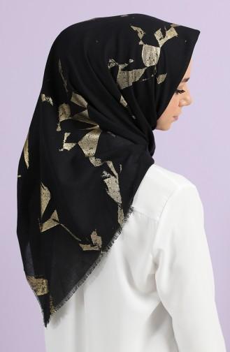 شال أسود 2719-02