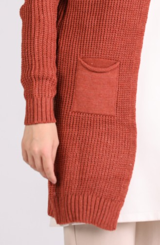 Dark Dusty Rose Cardigan 5020-03