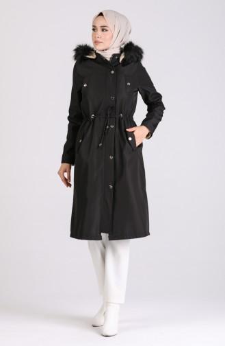 Black Winter Coat 4055-03