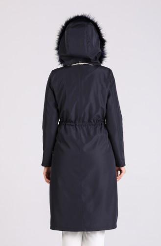 Navy Blue Coat 4055-06