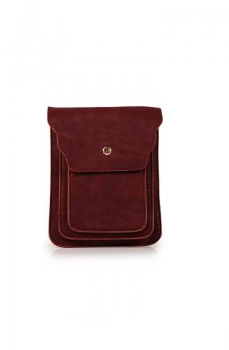 Claret red Shoulder Bag 73Z-04
