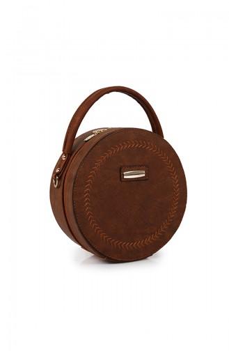 Tobacco Brown Shoulder Bag 34Z-04