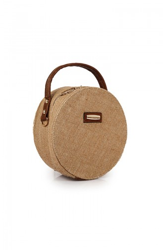 Beige Shoulder Bag 34Z-06