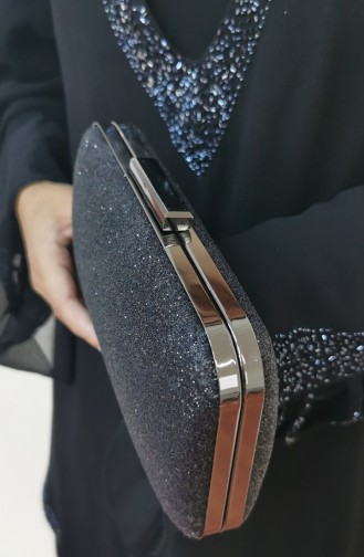 Black Portfolio Hand Bag 270107-201