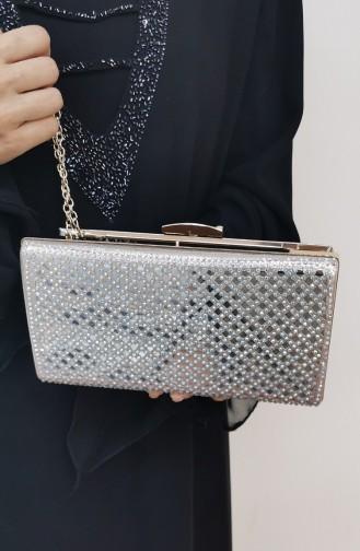 Gold Colour Portfolio Hand Bag 502125-207