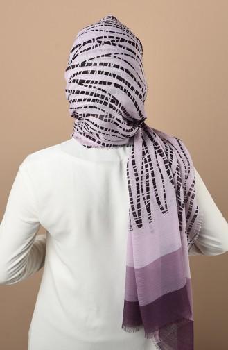 Lilac Sjaal 300718A-03