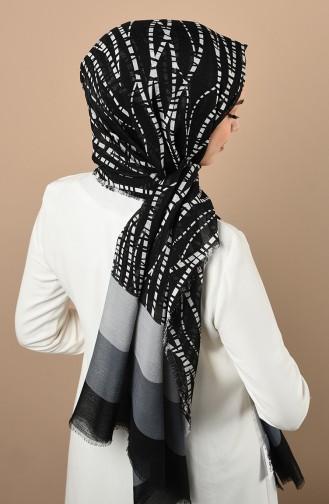 Silk Home Haiti Şal 300718A-12 Siyah Gri 300718A-12