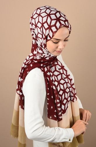 Cream Shawl 300718D-36