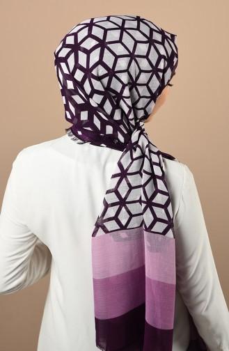 Purple Sjaal 300718D-39