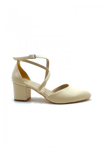 Chaussures a Talons Beige 9115-03
