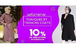 10% de Réduction Supplémentaire sur les Tunique et