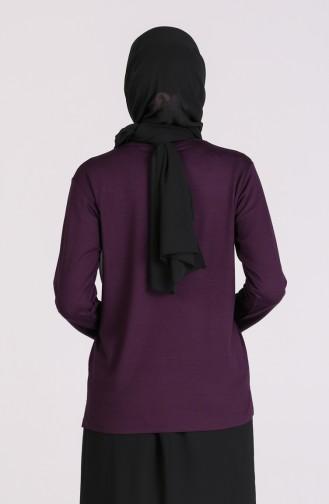 Purple Blouse 0323-02