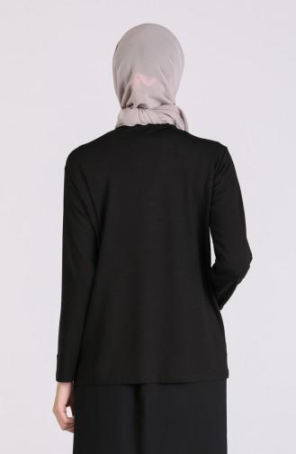 Blouse Noir 0333-01