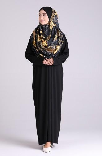 Black Praying Dress 0940B-01