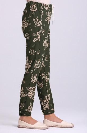 Dark Green Broek 9015-02