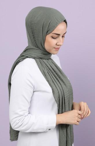 شال أخضر كاكي باهت 2528-32