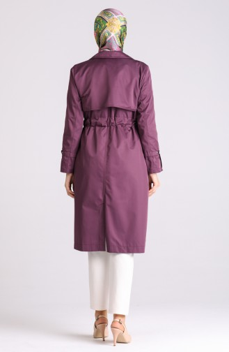 Trench Coat Pourpre 1408-06