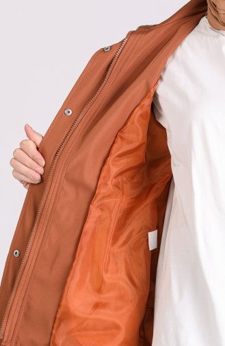 Tobacco Brown Trench Coats Models 1475-03