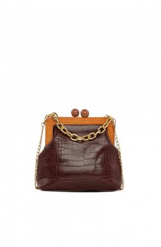Claret red Shoulder Bag 8682166062416
