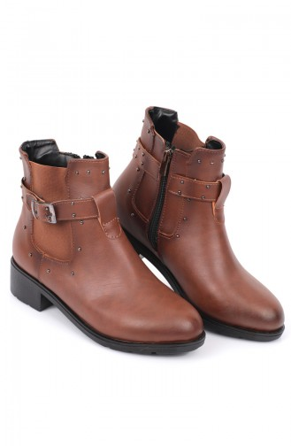 Tobacco Brown Bot-bootie 87521-2