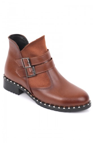 Tobacco Brown Bot-bootie 87541-1