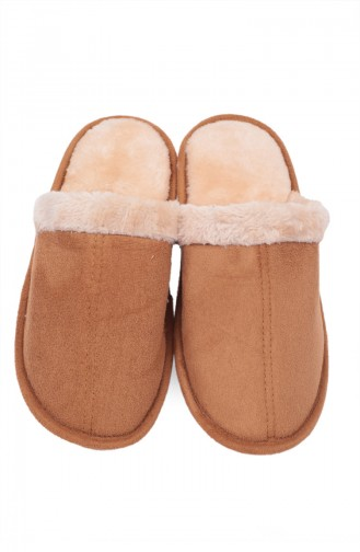 Tobacco Brown Woman home slippers 88025