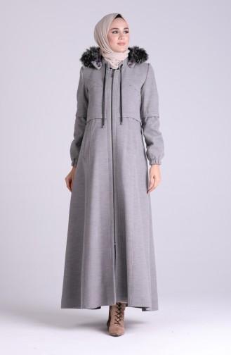 Gray Lange Jas 1003-03