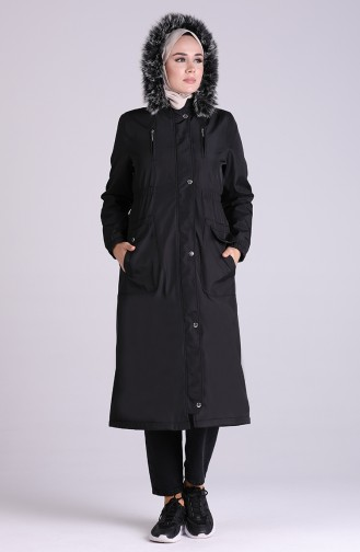 Manteau Noir 9055-01