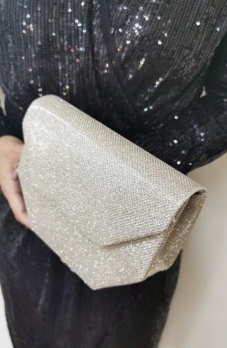 حقيبة يد لون ذهبي 507111-207