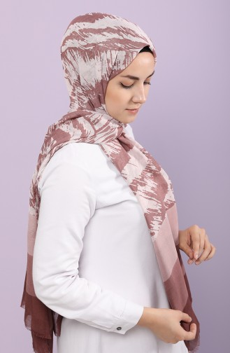 Dusty Rose Shawl 300718C-25