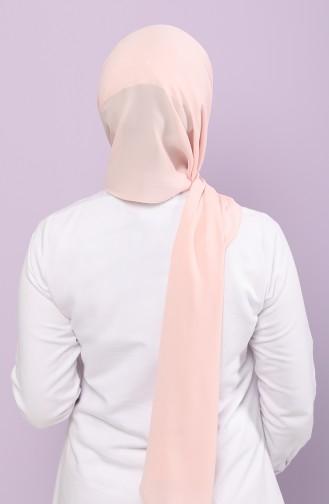 Silk Home Jorjet Düz Renk Şal 62001-15 Açık Somon 62001-15