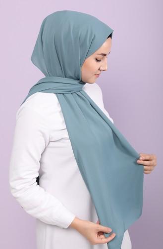 Silk Home Jorjet Düz Renk Şal 62001-29 Petrol