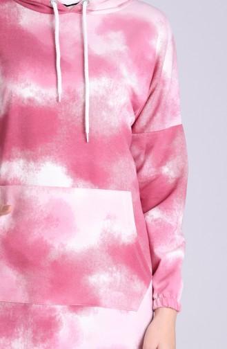 Beige-Rose Pulli 5334-02