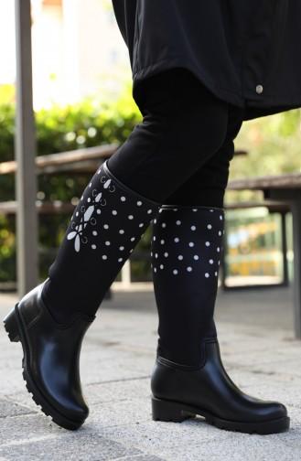Schwarz Stiefel 23
