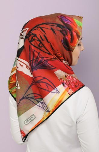 Coral Scarf 7437-797-914