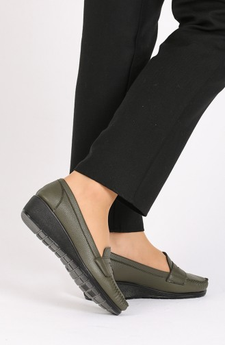 Khaki Casual Shoes 0030-03