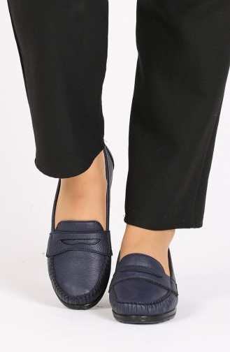 Navy Blue Casual Shoes 0030-06