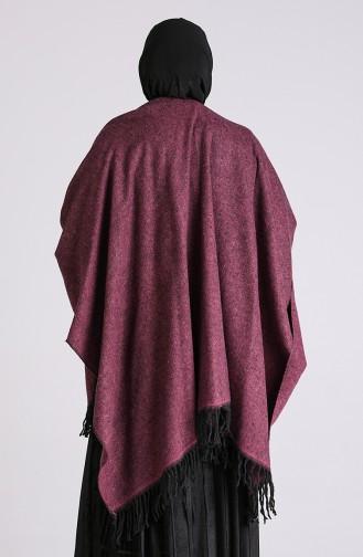 Fuchsia Poncho 13194-01