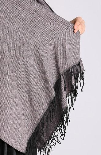 Gray Poncho 13194-03
