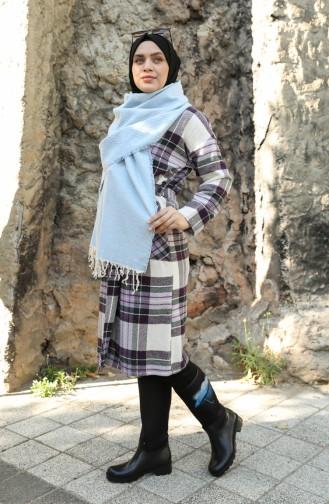 Etol Omuz Şalı 13204-08 Bebek Mavisi