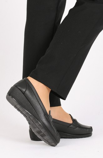 Black Casual Shoes 0033-02
